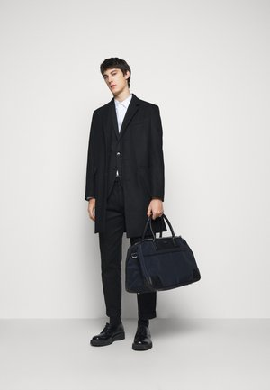DOUBLE ZIP - Weekend bag - navy/black
