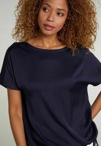 Oui - Basic T-shirt - nightsky - 3