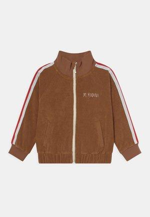 UNISEX - Zip-up sweatshirt - brown