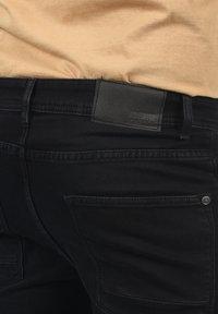 Solid - Denim shorts - black dnm - 4