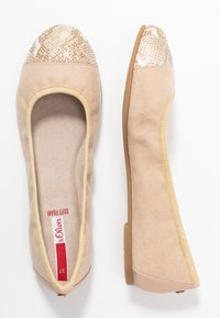 s.Oliver - Ballet pumps - nude - 3