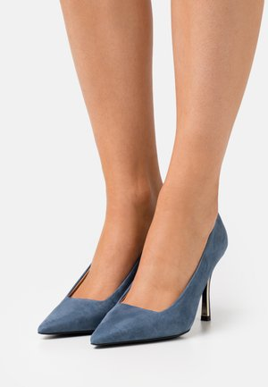 CODE DECOLLETE' T - Tacones - blu denim