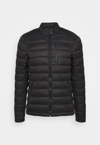 Superdry - COMMUTER QUILTED BIKER - Light jacket - black - 4