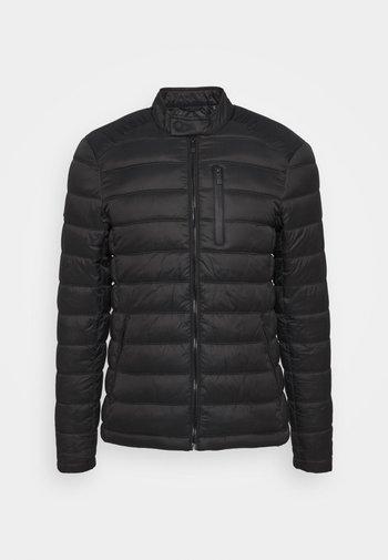 COMMUTER QUILTED BIKER - Light jacket - black