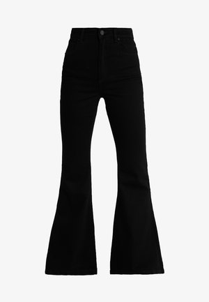 A DOUBLE OH  - Flared Jeans - black denim