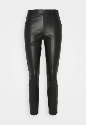 ONLJOLEE CUT - Leggings - Trousers - black