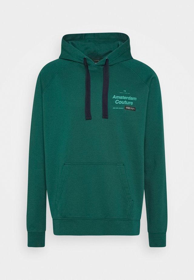 Jersey con capucha - glacier green