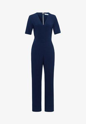 MIT V-AUSSCHNITT - Jumpsuit - navy blue