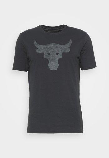 ROCK BRAHMA BULL - Print T-shirt - black