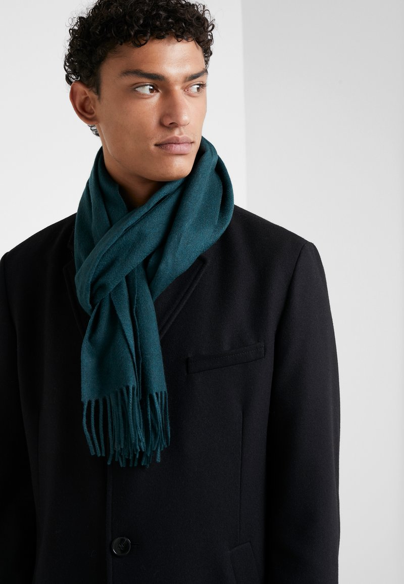 Johnstons of Elgin - 100% Cashmere Scarf UNISEX - Sjaal - hunter green
