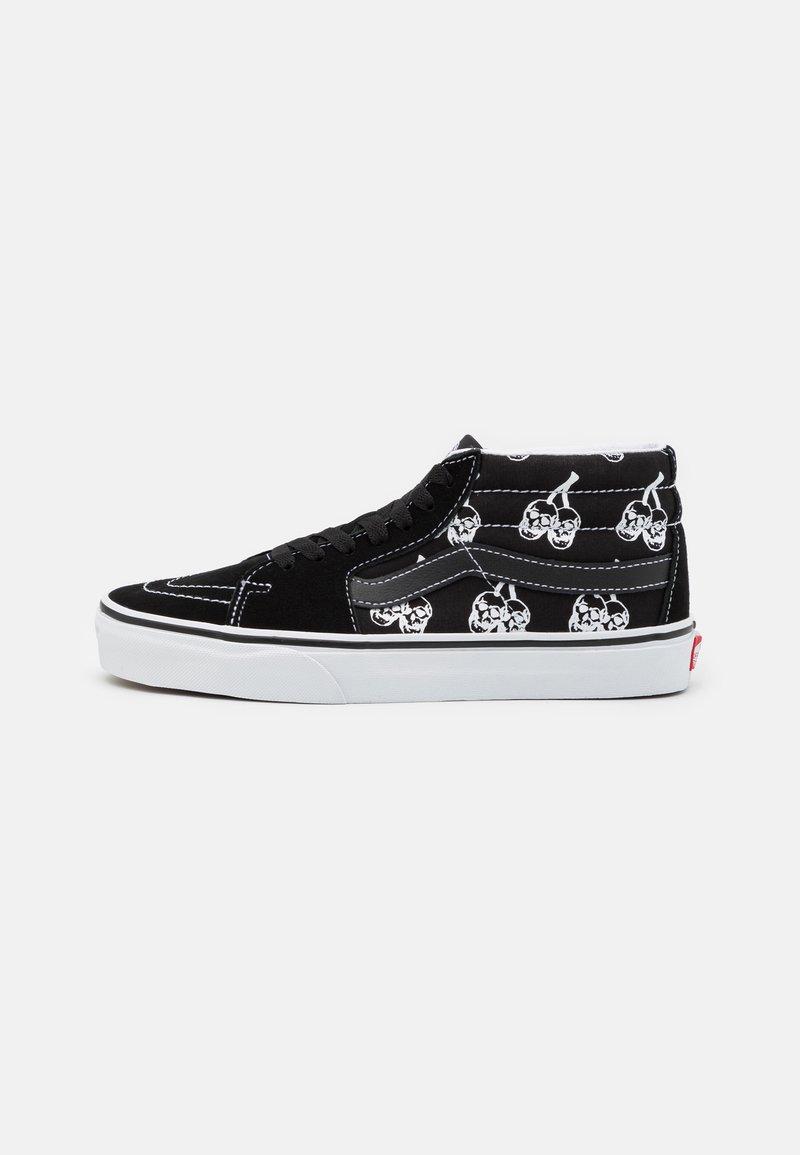 Vans - SK8 MID UNISEX - Zapatillas altas - black/true white