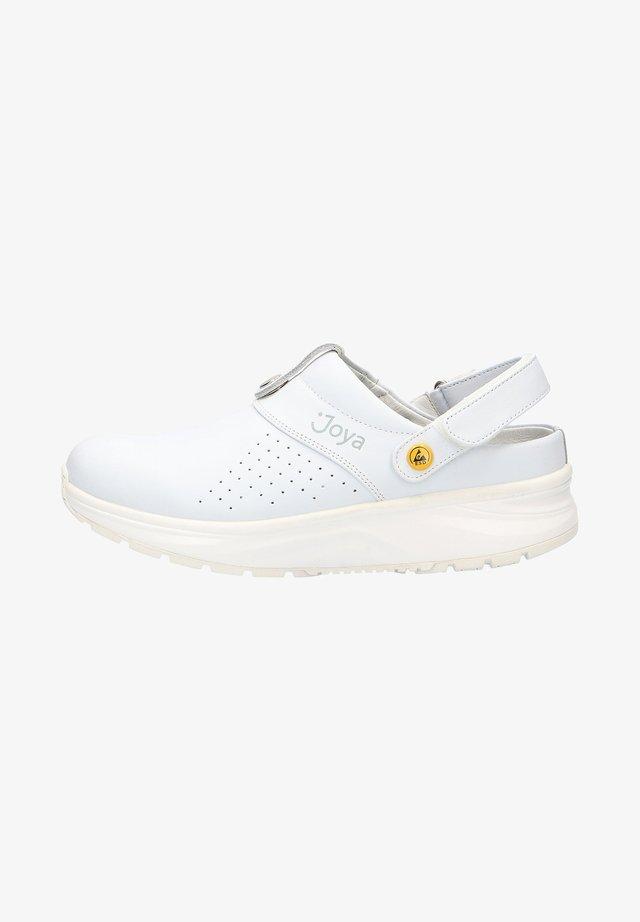 Clogs - white