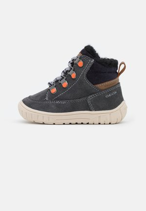 OMAR BOY WPF - Winter boots - grey/navy
