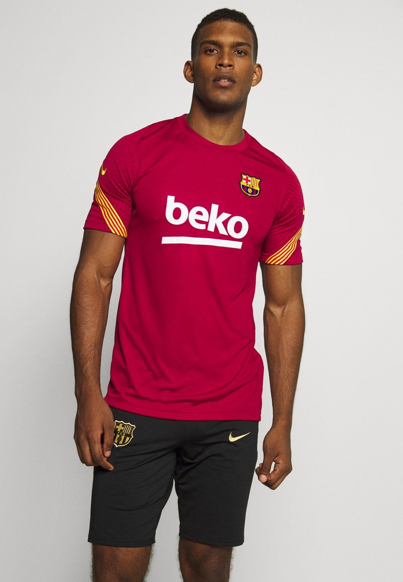 Nike Performance - FC BARCELONA - Klubtrøjer - noble red/amarillo