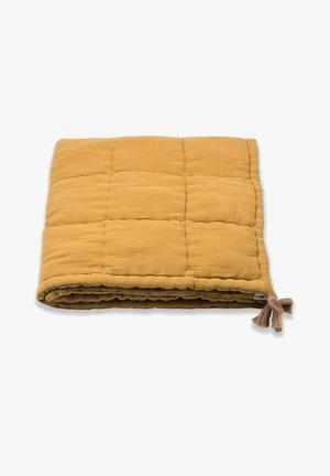 HANDMADE  - Zavinovací deka - mustard yellow