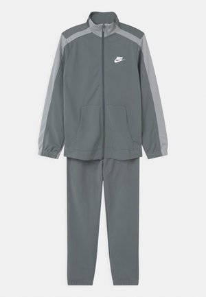 TRACKSUIT UNISEX - Dres - smoke grey/lt smoke grey/white