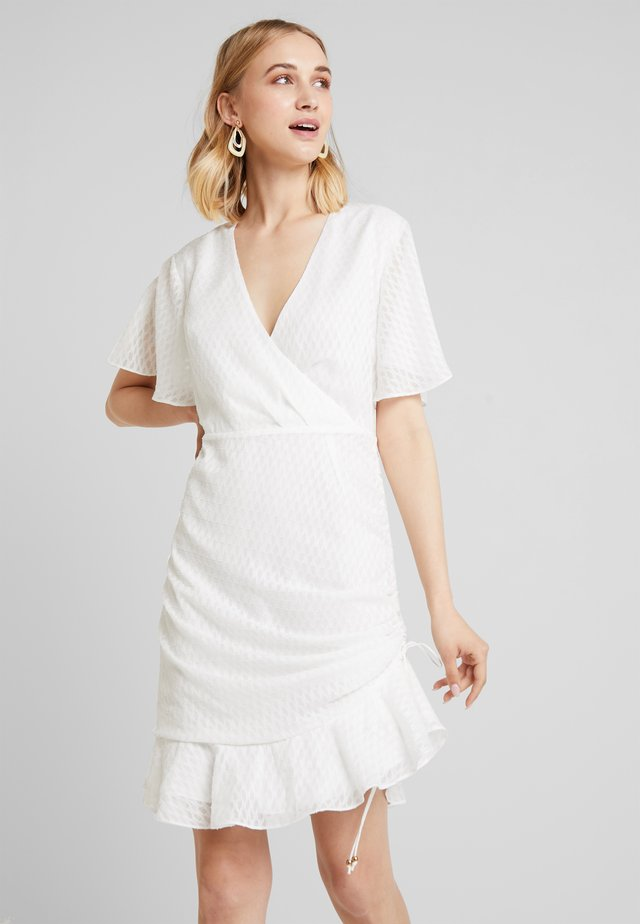 INSIGHT MINI DRESS - Day dress - ivory