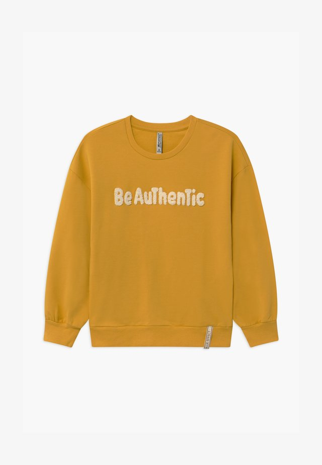 GIRLS BE AUTHENTIC - Sweater - maisgelb reactive