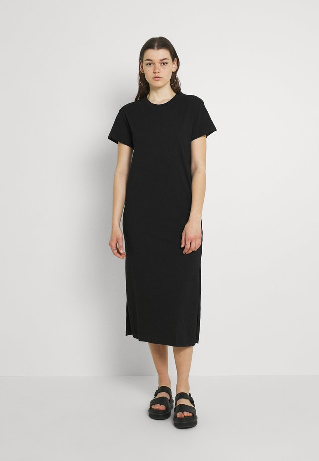ALANIS DRESS - Maxi-jurk - black
