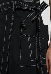 3.1 Phillip Lim - TOPSTITCH - Day dress - black - 3