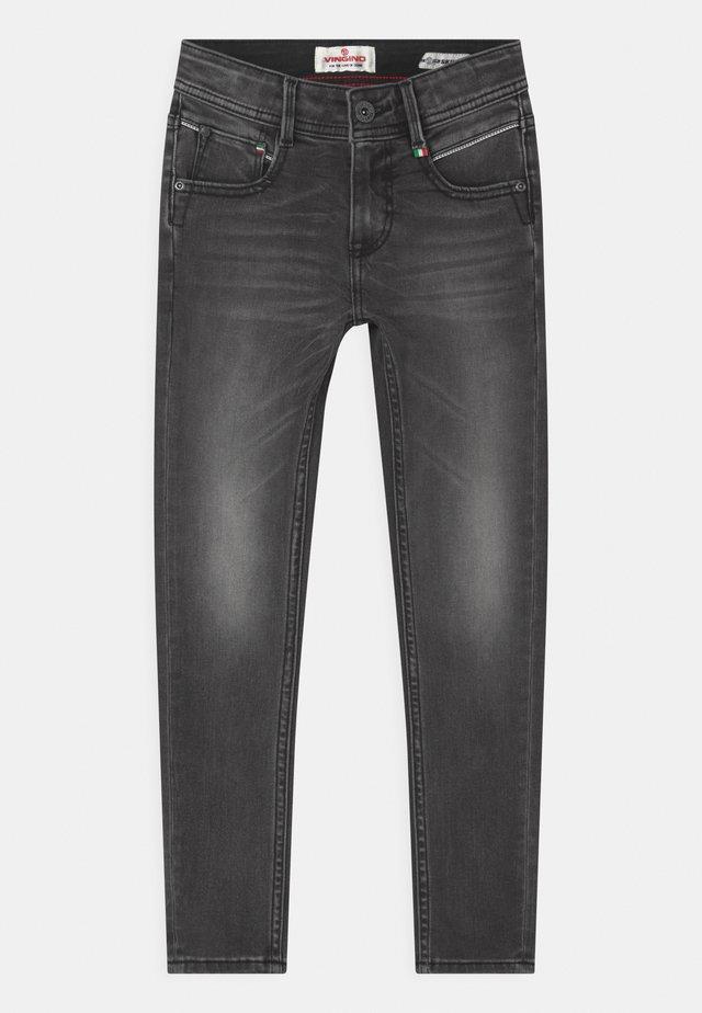 ADAMO - Jeans Skinny Fit - dark grey vintage