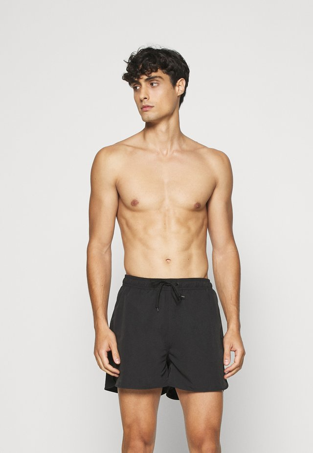SWIMMING SHORTS - Swimming shorts - black