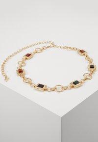 PCSIGEM WAIST BELT KEY - Belte - gold-coloured/multi