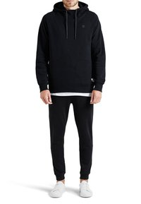 Jack & Jones - JCOPINN HOOD REGULAR FIT - Sweat à capuche - black - 1