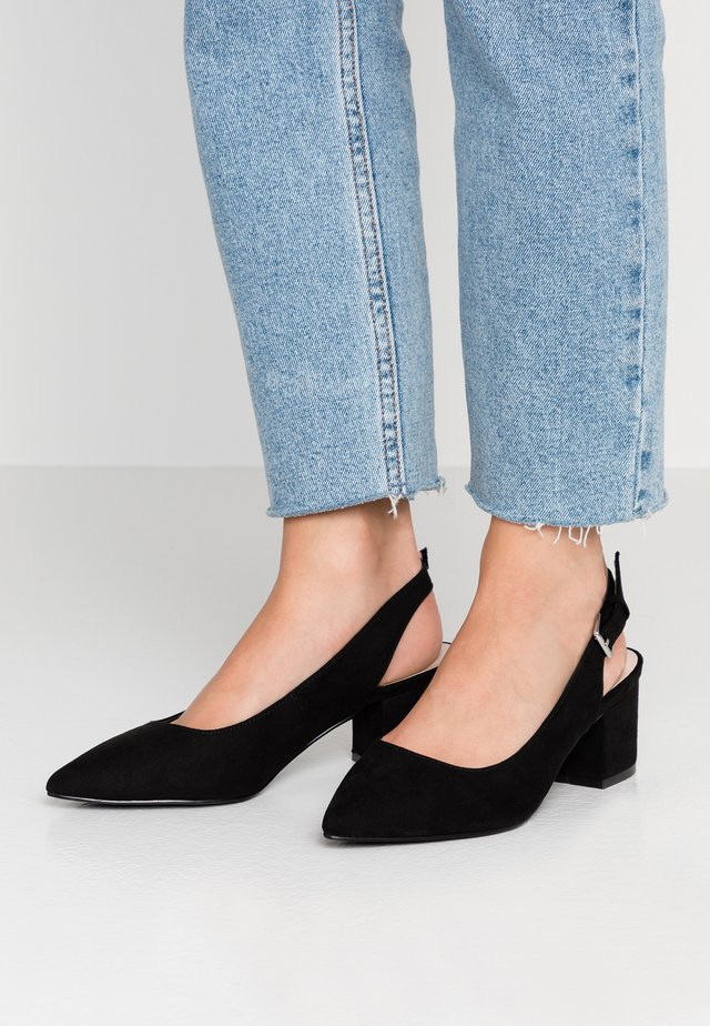 WIDE FIT WAUREN - Classic heels - black