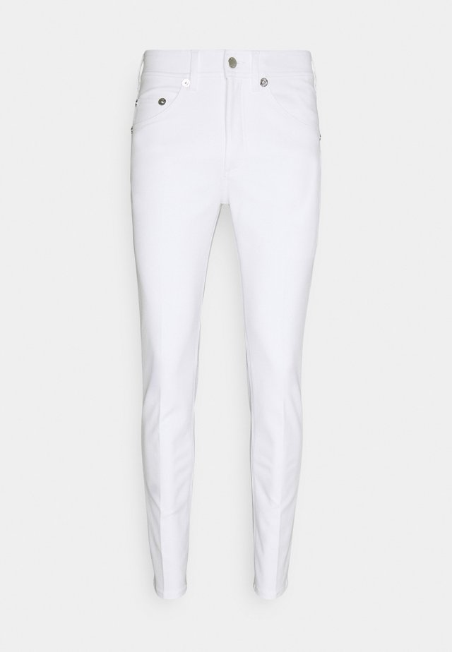 SUPER REGULAR RISE  - Jeans Skinny Fit - white