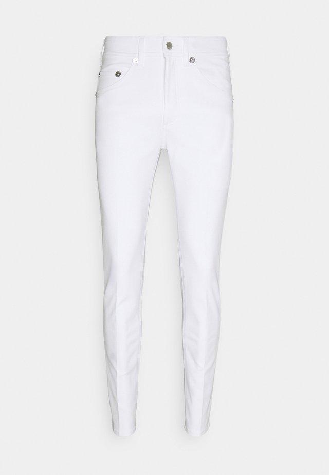 SUPER REGULAR RISE  - Skinny-Farkut - white