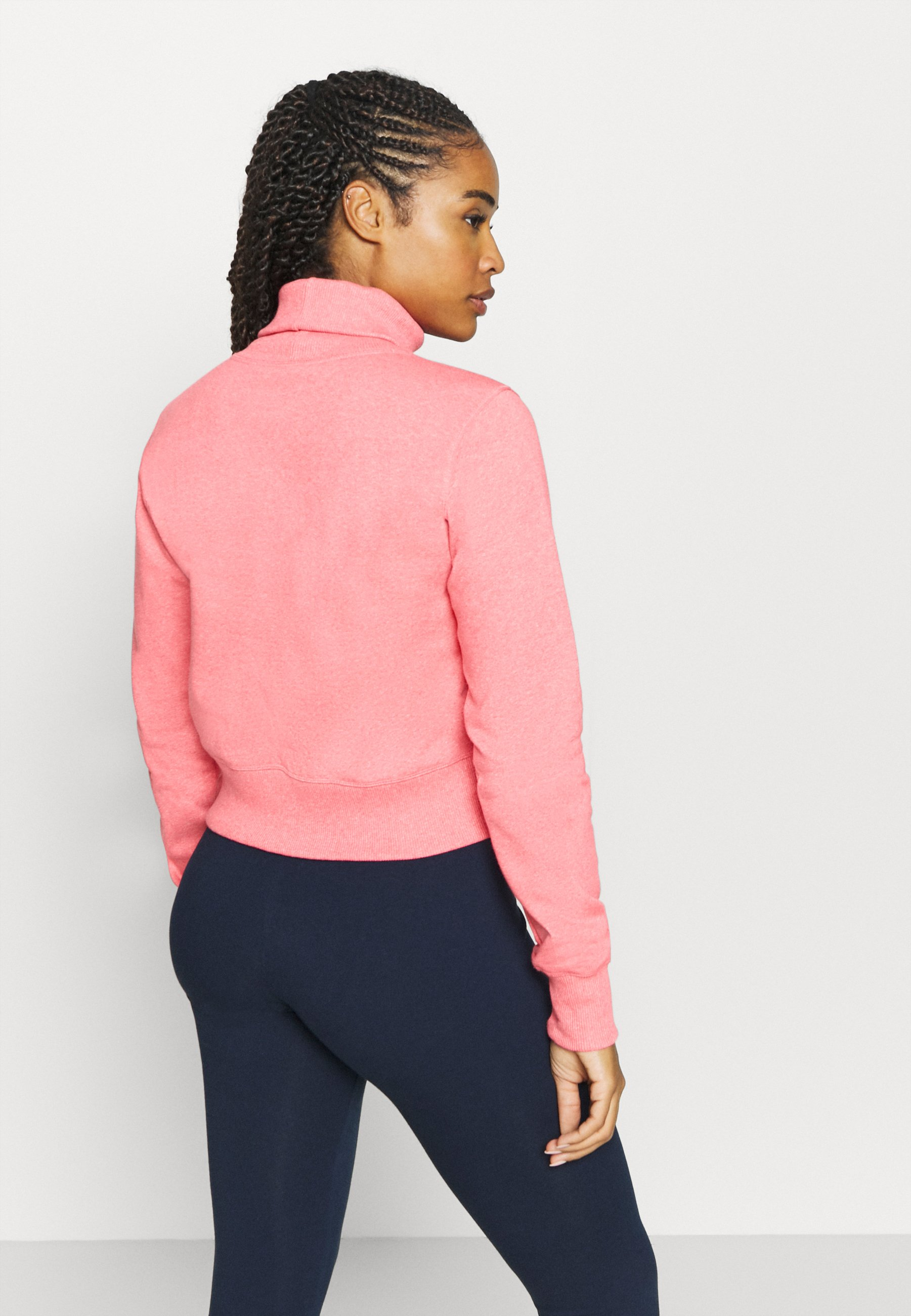 Champion HIGH NECK ROCHESTER - Sweatshirt - pink O8Ysj