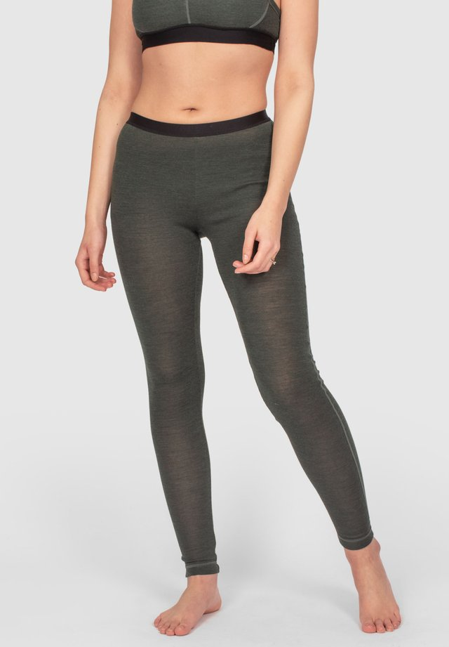 ACTIVE LONGS - Leggings - green melange