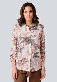 Alba Moda - Button-down blouse - rosé braun - 0