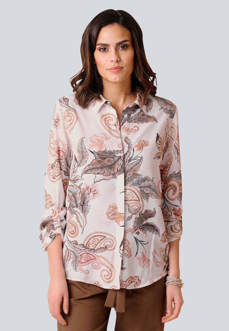 Alba Moda - Button-down blouse - rosé braun