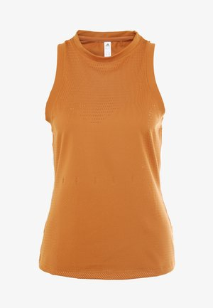 KNIT SPORT CLIMALITE WORKOUT TANK TOP - Funktionsshirt - tech copper
