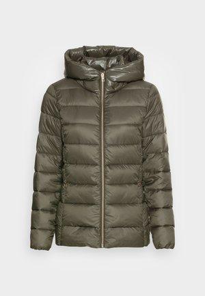 PER LL F THINSU - Down jacket - dark khaki