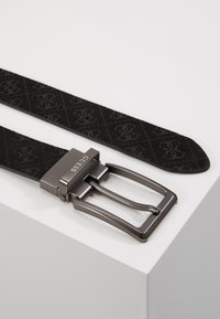 Guess - REVERSIBLE AND ADJUSTABLE BELT - Belt - black - 3