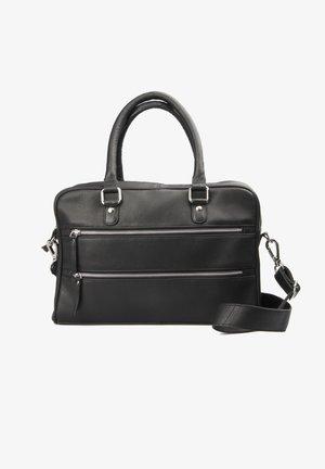 ISABELL - Handbag - black silver