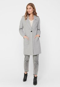 ONLY - Manteau court - medium grey melange - 1