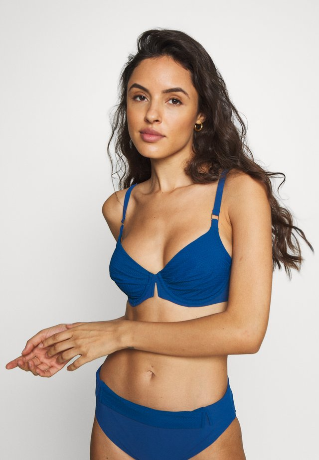 ANTIBES FULL CUP - Bikini top - blue azure