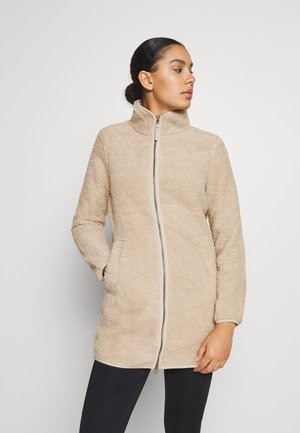 HIGH CLOUD COAT - Fleece jacket - dusty grey