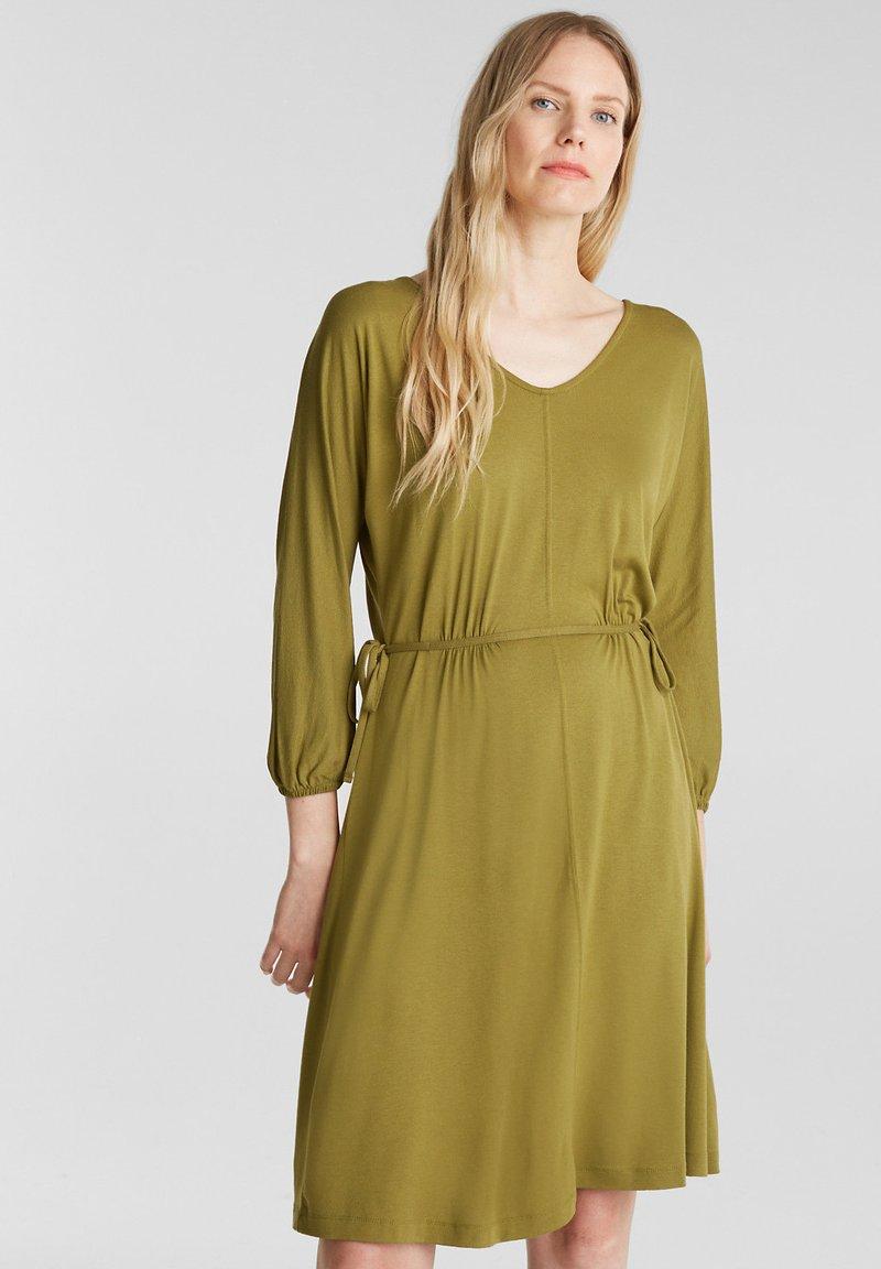 Esprit - FASHION - Korte jurk - olive