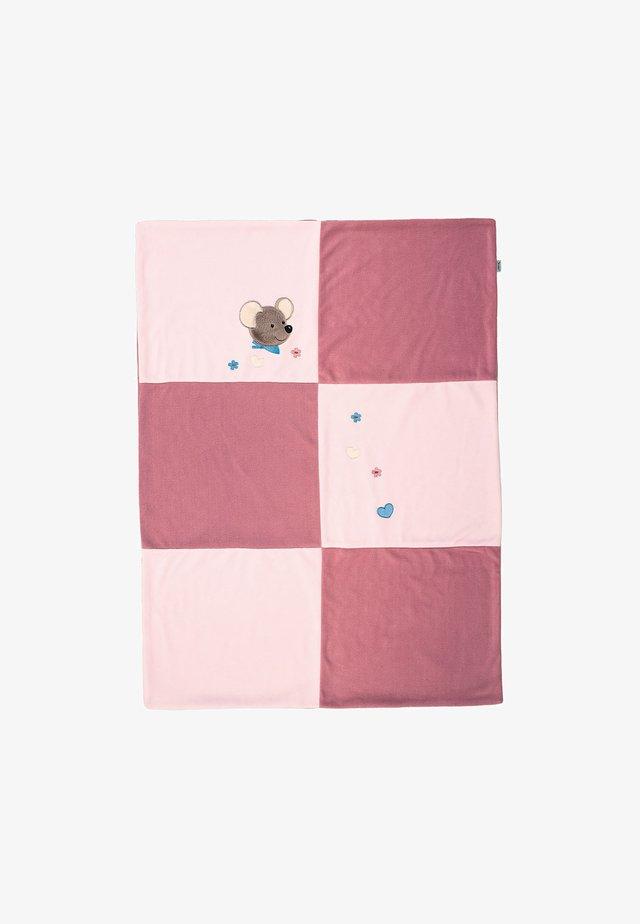 SCHMUSEDECKE MABEL - Baby blanket - multi-coloured
