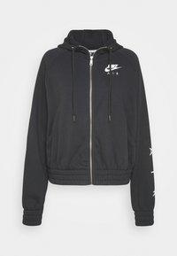 Nike Sportswear - Sudadera con cremallera - black/white - 5