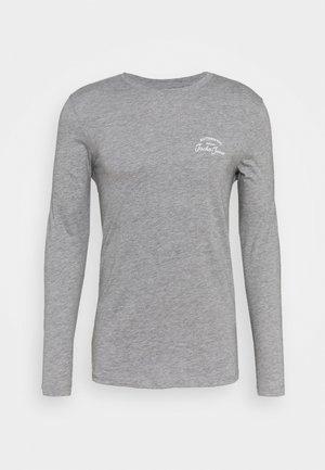 JJHERO TEE  - Langarmshirt - grey melange