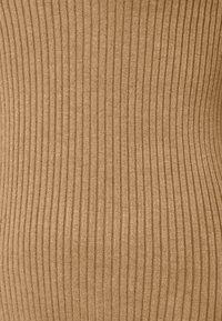 Anna Field - BASIC- rib 3/4 sleeve jumper - Strikkegenser - camel - 2