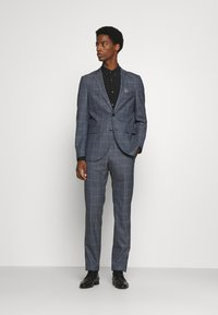 Matinique - CHECK STRETCH - Suit - dust blue - 0