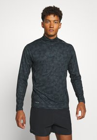 Endurance - ABBAS M PRINTED MIDLAYER - Camiseta de deporte - black print - 0