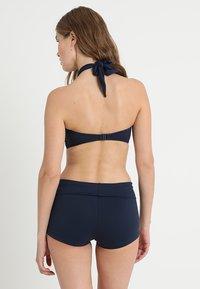 Seafolly - ROLL TOP BOYLEG - Bikini bottoms - indigo - 2